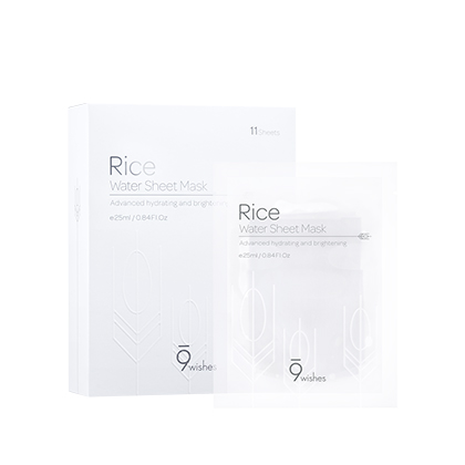 Rice Water Sheet Mask (11Sheets)