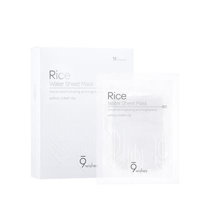 Rice Water Sheet Mask (11Sheets)