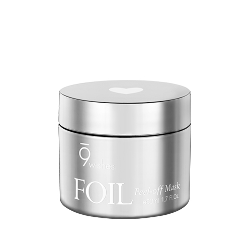 Foil Peel-off Mask Silver